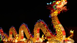 Chinese Dragon Chinese New Year Colors Holiday Light 3648x2736 Wallpaper