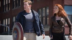 Black Widow Scarlett Johansson Captain America The Winter Soldier Captain America Chris Evans 5800x3263 Wallpaper