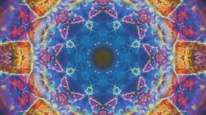Abstract Artistic Digital Art Energy Mandala Manipulation Pattern Space 1920x1080 Wallpaper