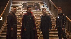 Benedict Wong Bruce Banner Doctor Strange Iron Man Mark Ruffalo Robert Downey Jr Tony Stark Wong Mar 5253x3840 Wallpaper