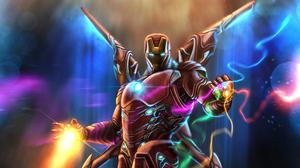Iron Man Marvel Comics 2112x1188 wallpaper