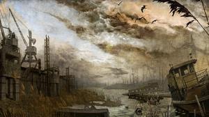Dark Destruction Horror 1920x1200 Wallpaper