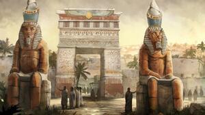 Artistic Egyptian 1920x1200 Wallpaper