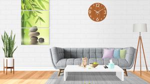 Living Rooms Clocks 4000x3000 Wallpaper