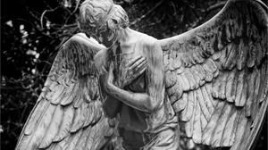 Man Made Angel Statue 1920x1200 Wallpaper