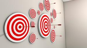 Target Arrow Red 1920x1200 Wallpaper