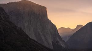 Landscape Mountains Forest Yosemite National Park 3000x2001 Wallpaper