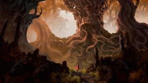 Forest Tree Warrior 3175x1888 Wallpaper