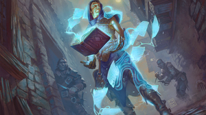 Assassin Book Magic Magic The Gathering Man Sorcerer 2500x2025 Wallpaper