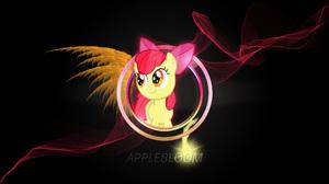 Apple Bloom Artwork Cutie Mark Crusaders My Little Pony My Little Pony Friendship Is Magic 2560x1440 Wallpaper