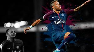 Neymar Paris Saint Germain F C Soccer 3840x2400 Wallpaper