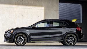Black Car Compact Car Crossover Car Luxury Car Mercedes Amg Gla Suv 1920x1080 Wallpaper