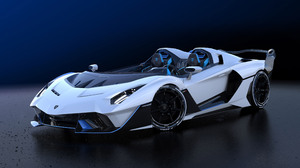 Lamborghini Car White Car Sport Car Supercar 3840x2160 Wallpaper