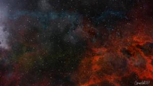 Fantasy Art Digital Art Deep Space Galaxy Nebula Crimelab357 Liam Ragnathsingh 1920x1080 Wallpaper