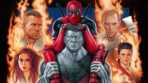 Colossus Deadpool Ryan Reynolds Wade Wilson 2000x1125 Wallpaper