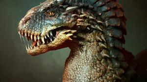 Marcus Whinney Digital Art Creature Fantasy Art Dragon CGi 1059x1292 Wallpaper