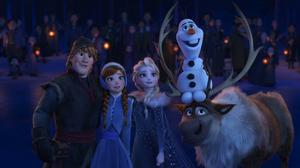 Anna Frozen Elsa Frozen Kristoff Frozen Olaf Frozen Sven Frozen 3000x1688 Wallpaper