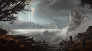 Xbox Game Studios Halo Science Fiction Video Games Video Game Art Landscape Sky Bungie Halo Reach 1920x1080 Wallpaper