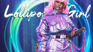 Winnie Gao Women Lollipop Food Sweets Pink Hair Digital Art Shades Women With Swords Women With Shad 1920x1554 Wallpaper
