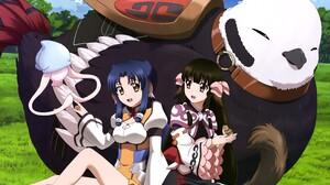Utawarerumono Anime Girls Anime 5971x4102 Wallpaper