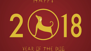 Chinese New Year Dog New Year Red 2039x1470 Wallpaper