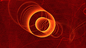 Apophysis Software Circle Fractal Lines Red 2048x1536 Wallpaper