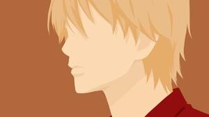 Ore Monogatari Anime Boys Blonde Anime Simple Background 1278x947 wallpaper