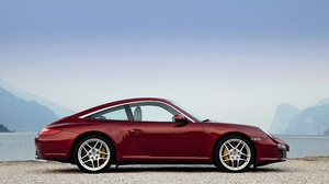 Car Porsche Porsche 911 Porsche 911 Targa Red Car Sport Car 4096x2731 Wallpaper