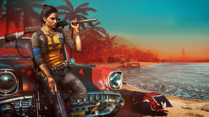 Dani Rojas Video Games Video Game Characters Gun Video Game Girls Rifles Fictional Character Car Wom 9000x5062 Wallpaper