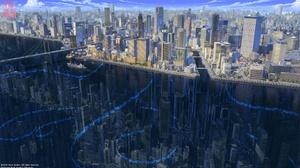 Building City Futuristic Skyscraper 1920x1080 wallpaper
