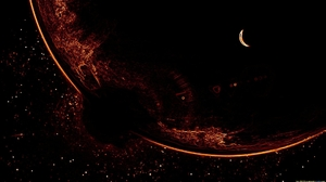 Moon Planet Space 1920x1080 Wallpaper