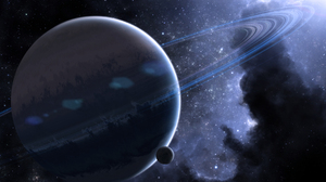 3D Planet Space Galaxy 1920x1200 Wallpaper