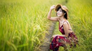 Women Asian 4562x3041 wallpaper