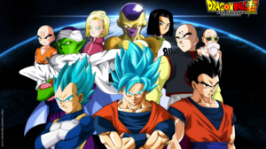 Android 17 Dragon Ball Android 18 Dragon Ball Dragon Ball Super Frieza Dragon Ball Gohan Dragon Ball 9853x6182 wallpaper