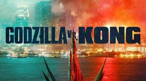 Godzilla Vs Kong Godzilla King Kong Kaiju City Battle Creature Movies Movie Poster 2000x2964 Wallpaper