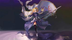 Jeanne DArc Fate Series Ruler Fate Grand Order Fate Grand Order 2560x1440 Wallpaper