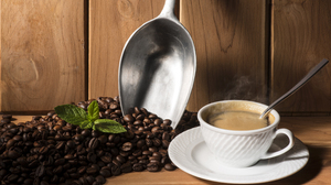 Coffee Coffee Beans Cup Still Life 6618x4692 Wallpaper