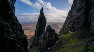 Isle Of Skye Scotland Rock 1920x1080 wallpaper