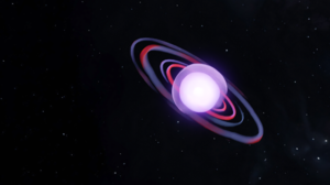 Abstract 3D Abstract Space Gas Giant Stars 3D Graphics Blender Digital Art 4512x1080 Wallpaper