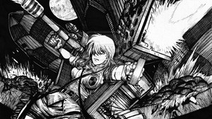 Anime Hellsing Seras Seras Victoria 1024x781 Wallpaper