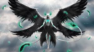 Ulquiorra Cifer Angel Espada Bleach Arrancar Bleach Hollow Bleach Bleach Brave Souls 9000x6657 Wallpaper