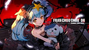 Zombieland Saga Anime Boys Twintails Blue Hair Zombie 6 Lily Hoshikawa 1778x1000 Wallpaper
