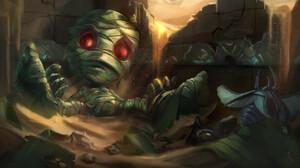Amumu League Of Legends 3840x2160 Wallpaper