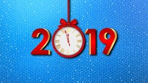 Clock New Year 2019 6000x3500 Wallpaper