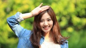 Asian Brunette Girl Model Smile Woman 3500x2333 Wallpaper