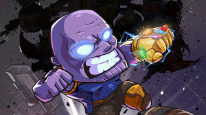 Avengers Endgame Marvel Comics Thanos 2400x1350 wallpaper