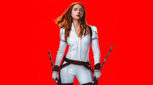 Black Widow Natasha Romanoff Scarlett Johansson 3840x2160 Wallpaper