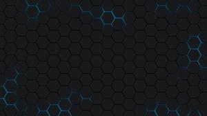 Digital Art Hexagon Pattern 1920x1200 Wallpaper