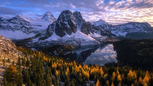Nature Forest Lake Mountain 2000x1266 Wallpaper