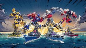 Bumblebee Transformers Optimus Prime Transformers Warship World Of Warships 3840x2160 Wallpaper
